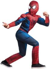 Marvel Amazing Spider-Man 2 Muscle Chest Child Costume  Large (12-14)  NEW