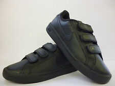 Boys Nike Trainers Black Velcro School Shoes Sizes 3,4,5,5.5 New £24.99