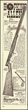 1964 vintage firarms ad, Hopkins Allen Muzzle Loading Rifle. -040813