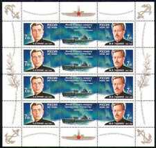 Russia 2007 Submarines/Submariners/Navy/Nautical/Sailors/Transport 8v sht n28657