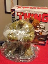 THE THING -ART ASYLUM MARVEL MILESTONES STATUE MIB#9 of 2500 Rare Fantastic Four