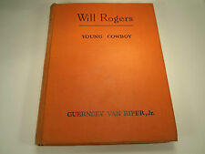 Will Rogers Young Cowboy by Guernsey Van Riper Jr. 1951