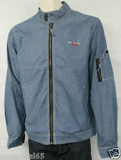 Triple Five Soul Light  Blue 100% Cotton Jacket  (S)  555 Soul Triple 5 Soul