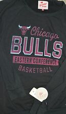 Chicago Bulls  Men Black Sweatshirt Sportige Apparel Size XL $55 MSRP