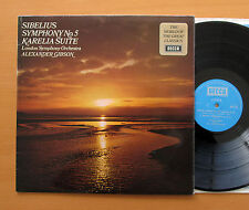 SPA 122 Sibelius Symphony no. 5 Alexander Gibson LSO 1971 Decca Stereo NM/VG