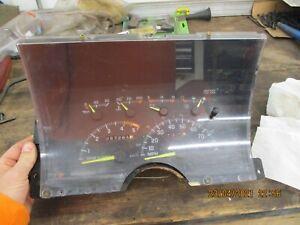 1992 1993 1994 CHEVROLET GMC C/K TRUCK INSTRUMENT CLUSTER TAHOE SUBURBAN SPEEDO