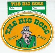 Autocollant sticker The Big Boss jean mode