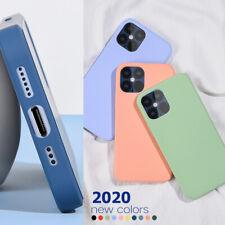 Para iPhone 12 Pro Max SE 2020 11 Pro Max XS Xr X 7 Silicona Suave Funda Delgada