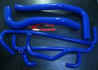 Blue Holden Commodore VP VQ 3.8 V6 91-94 silicone heater radiator coolant hose