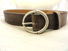 "New Allen Edmonds Men's Casual Belt ""Circle Ave"" Brown Size 34 Style 17527 (J52)"