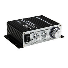 Lepy LP-2024A+ Hi-Fi Stereo Class-T Digital Audio Amplifier Portable Black