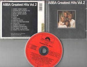 Abba  CD  GREATEST HITS  VOL.2  © 1983