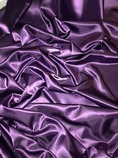 "3 mtr elegant dark purple acetate heavy satin fabric,bridal,..45""wide (114cm)"