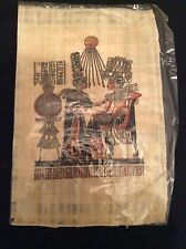 Egyptian Painted Papyrus. New.