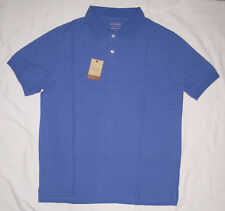 100% True Sonoma Large Shirt Yellow Polo Short Sleeve Collar Men Ab64 Men's Clothing Clothing, Shoes & Accessories
