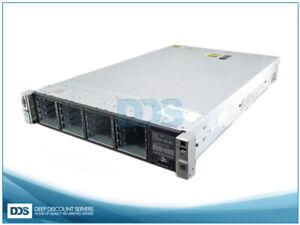 HPE DL380p G8 DL380pG8-S16 16 SFF (2)E5-2603 6-C 2Ghz 64GB P420 RAID (2)750W