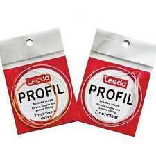 Leeda Profil Braided Loops - Trout Clear Loops