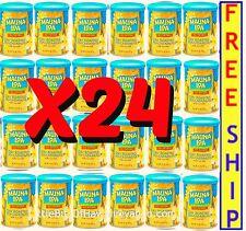 MAUNA LOA DRY ROASTED MACADAMIA NUTS 4.5 oz Cans- X24 - = Almost 7 LBS! HAWAII
