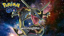 Pokemon Go SHINY BOOSTED RAYQUAZA ACCOUNT 100% BAN/HACK FREE!