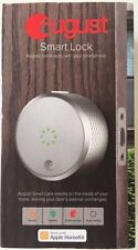 *NEW SEALED* August Smart Lock Keyless Home Entry Bluetooth Deadbolt - Silver