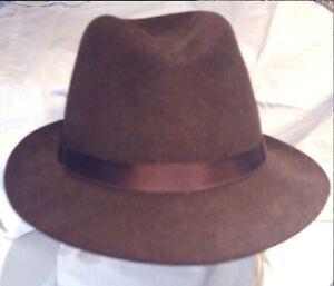 Herbert Johnson INDIANA JONES / DR DOCTOR WHO Fedora Trilby Hat