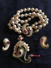 Vintage KJL Bracelet , Earrings & Brooch