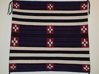 Navajo rug, Native American rug, Chief Style, Handwoven, 23 in.H x 24.75 in.W