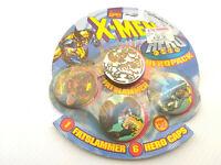 Vintage 1995 Marvel Hero Caps Pogs Fatslammer Toy Biz XMen No.75121 Gambit