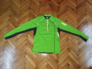 Salomon Mens Soft Shell Jacket Half Zip Top Shirt Bargain VGC