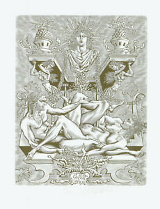 Ex libris eroticExlibris by VERKHOLANTSEV MIKHAIL / Russia