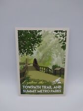 Postcard Set of 12 Explore Towpath Trail and Summit Metro Parks Postcards
