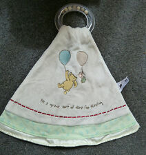 Mothercare Winnie the Pooh Teether/ Comforter Blankie