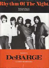 Rhythm Of The Night - DeBarge - 1985 Sheet Music