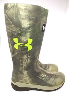 Under Armour HARDTACK RUBBER BOOTS  WATERPROOF HUNTING Size 8