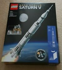 Lego 21309 Ideas NASA Apollo Saturn V - Retired - Mint Condition Sealed Box