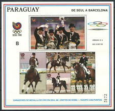 Paraguay 1989 Mi. Bl. 455 SS 100% (*), Olympic Games