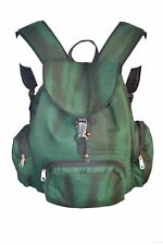 Jordash Bag Backpack Green Tie Dye Cotton and Canvas Material.