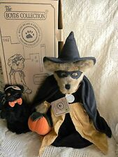 Boyds TABITHA J SPELLBINDER w/ MIDNIGHT SNEAKYPUSS ~ 1999 LE ~ excellent w/ tag