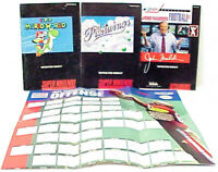 SUPER NINTENDO SNES VINTAGE INSTRUCTION MANUAL GUIDES SUPER MARIO WORLD & MORE