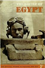 THE BATTLE OF EGYPT: WAR OFFICE 1943 BOOKLET/ 28 PAGES +PICS /MAPS/ DOWNLOAD