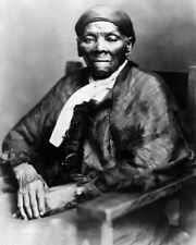 Civil Rights Activist HARRIET TUBMAN Glossy 8x10 Photo Historical Vintage Print