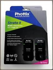 Phottix PH15655 Strato II Multi 5-in-1 Auslöser-Set für Sony 150m Reichweite