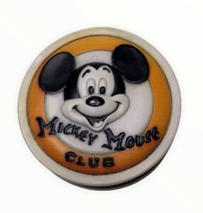 RARE Disney Olszewski Pokitpal Mickey Mouse Club Trinket Box