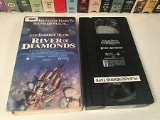 River Of Diamonds Rare Adventure VHS 1990 Dack Rambo Angela O'Neill