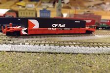 N-Scale Custom Painted CP RAIL (CP) WELLCAR W/CONTAINER # 965104