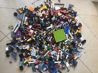 3KG LEGO x2550pc's! CREATIVITY PACKS - FATASTIC MIX OF BULK LEGO! - x9 FIGS +