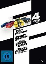 Fast & Furious (1-4 Film-Set) [4 DVDs] | DVD | Zustand gut