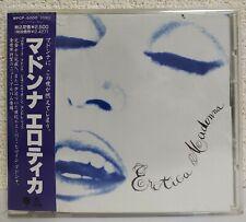 MADONNA - Erotica - Japan Edition w/OBI WPCP-5000