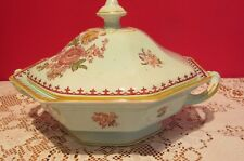 Pottery, Porcelain & Glass Adams Lovely Melville B&s Large Blue And White Tureen 1840-1900