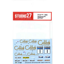 1/24 1974 Ford RS Escort Mk.I #1 Colibri RAC Rally decal set Studio 27 ~ DC1156
